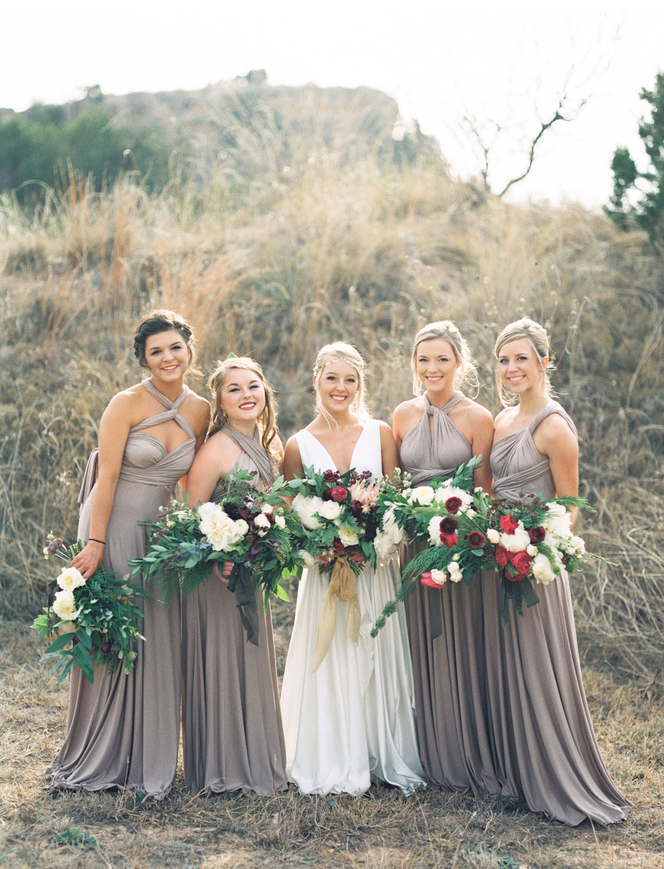 purple wedding dresses