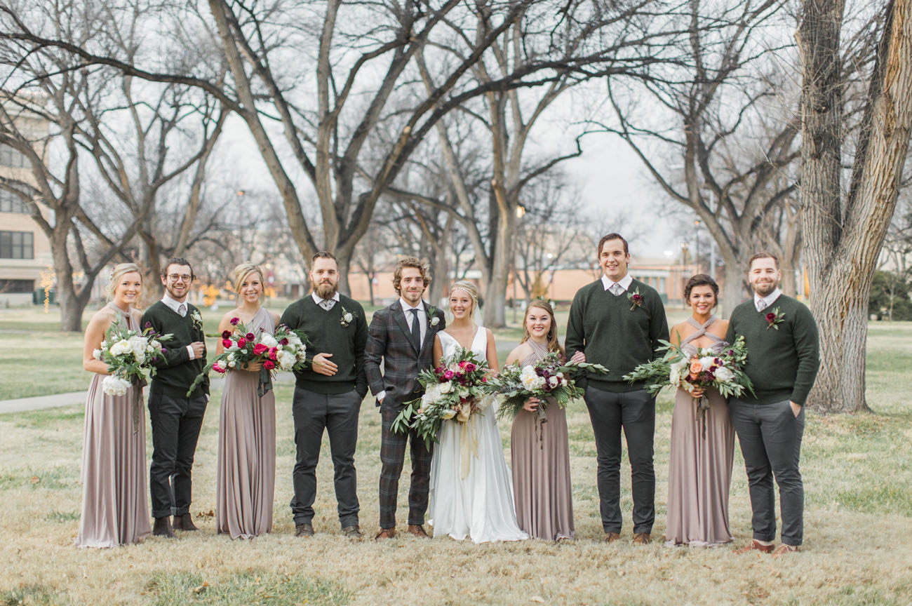 Boho Winter Wedding