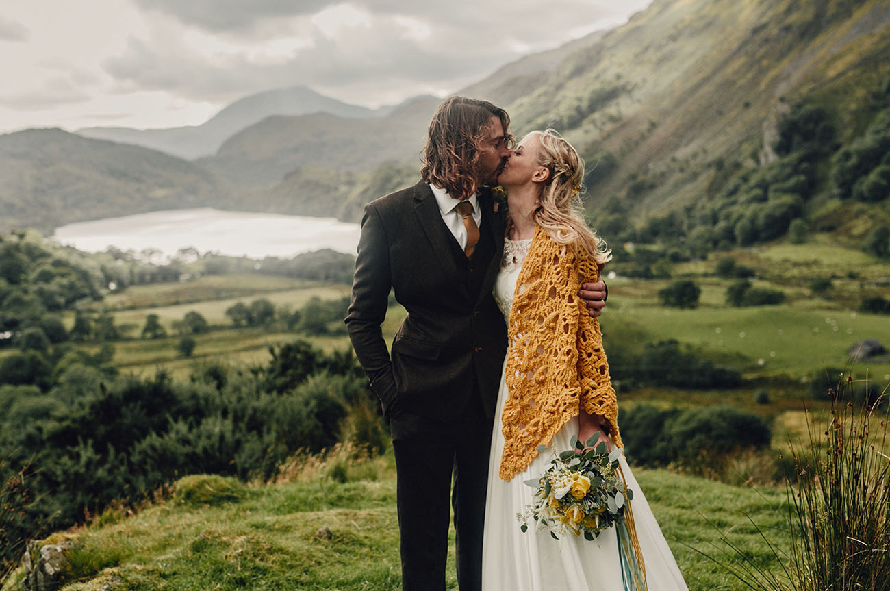 Wales UK Camp Wedding