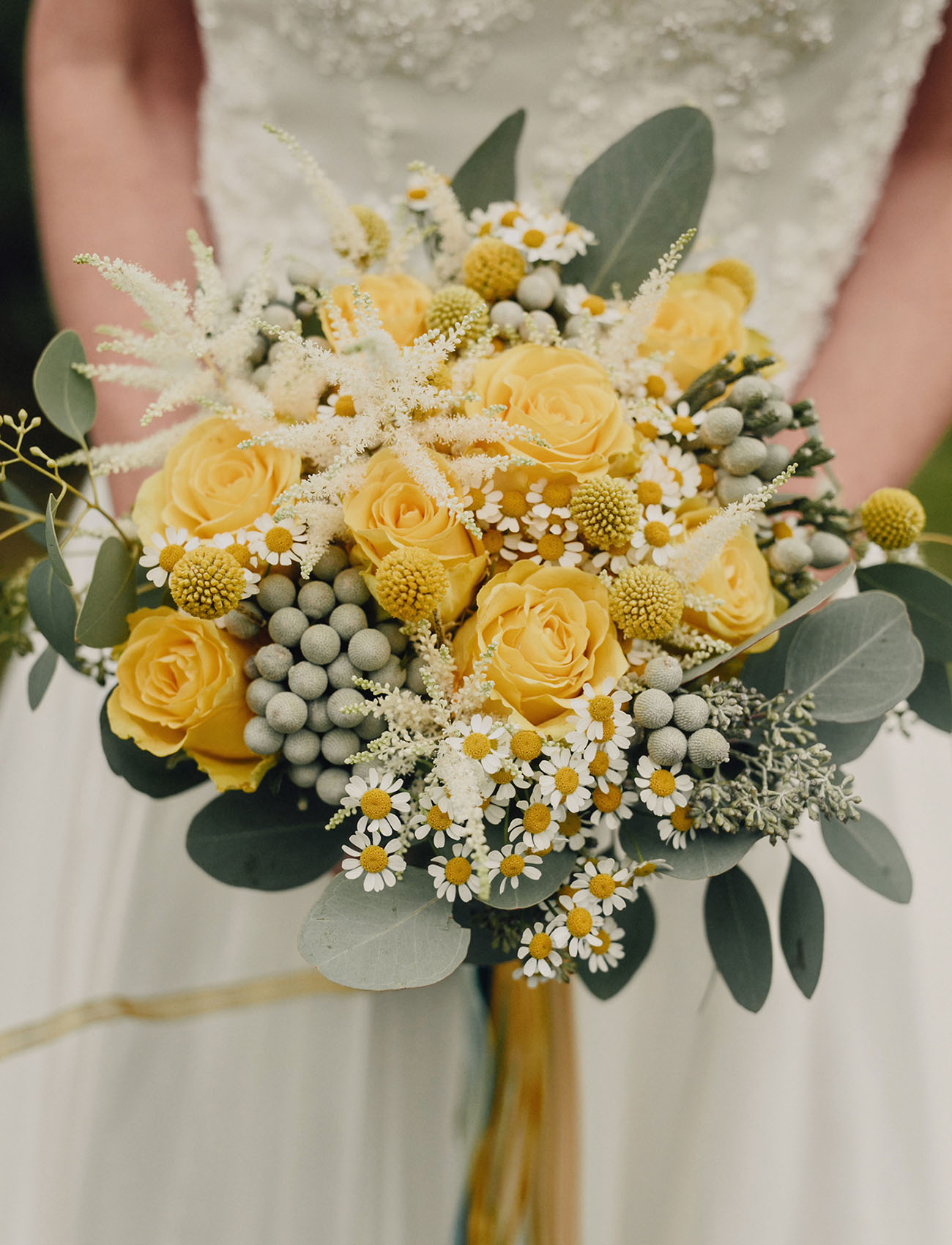 rose and daisy bouquet