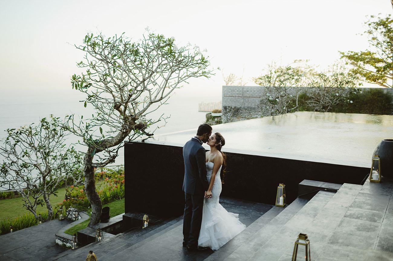 Cliffside Bali Wedding