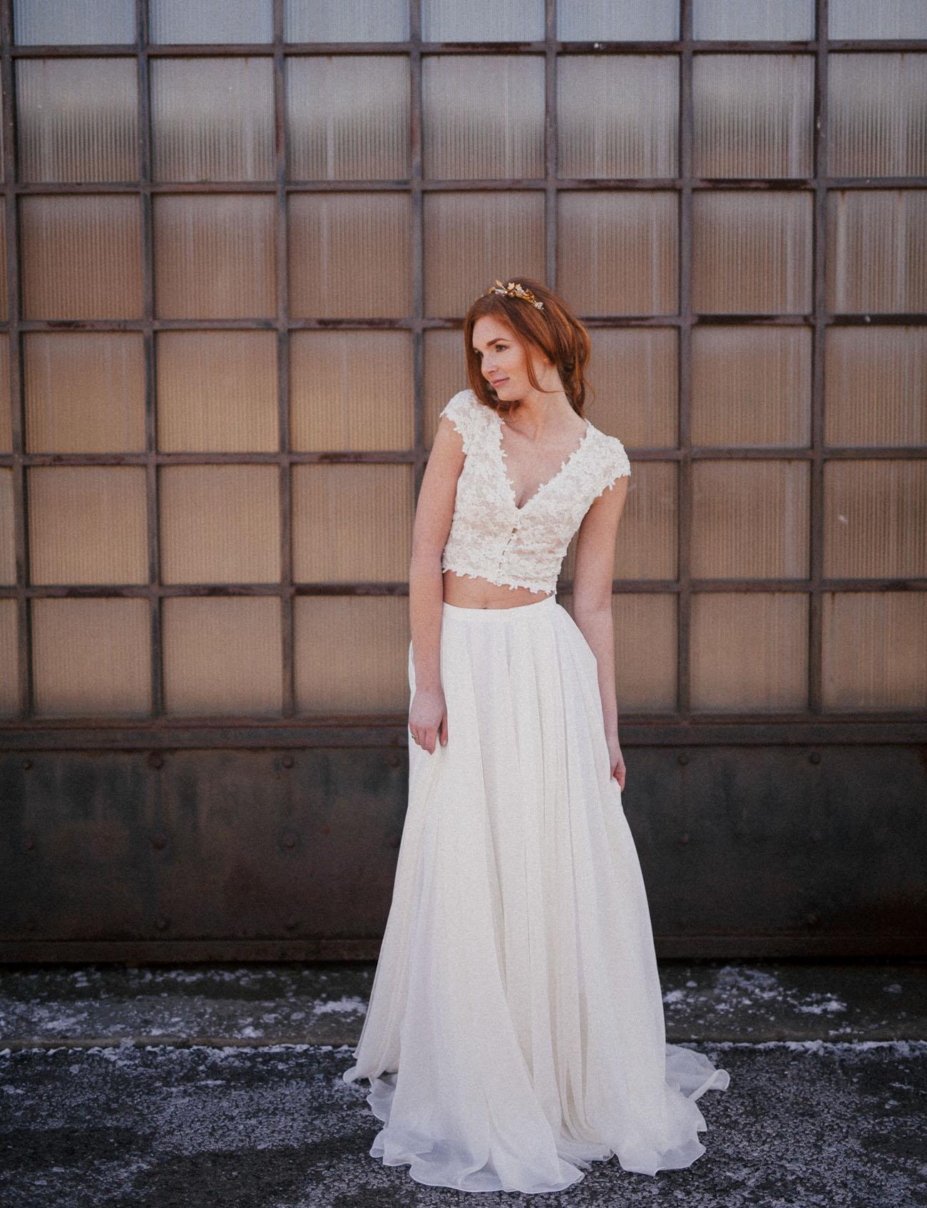 Industrial Emerald Isle Wedding Inspiration