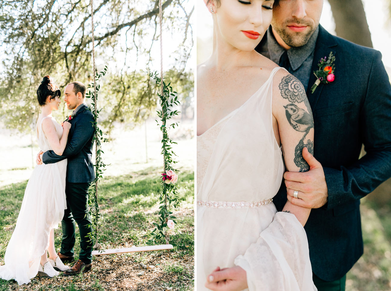 Laid-Back Garden Party Wedding Inspiration