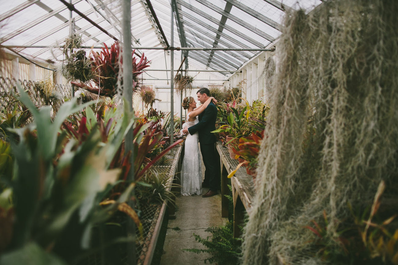 Boho Greenhouse Wedding