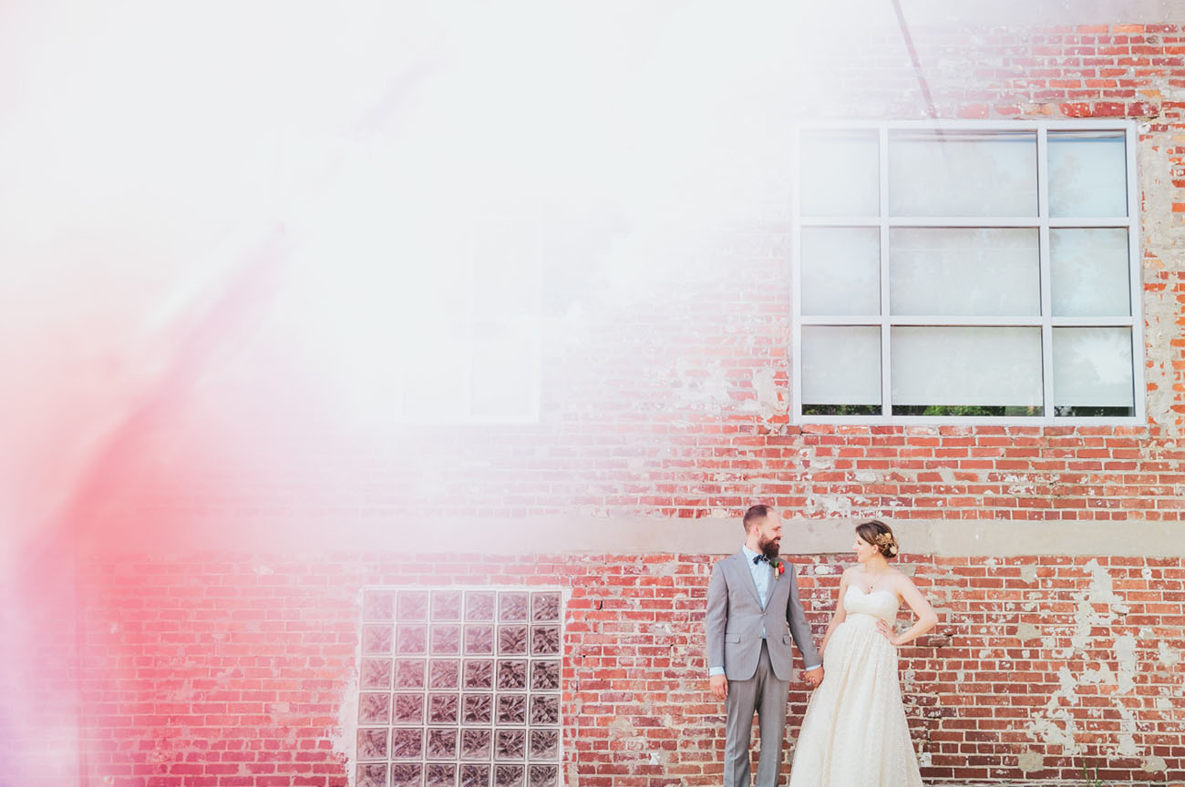Colorful Atlanta Wedding
