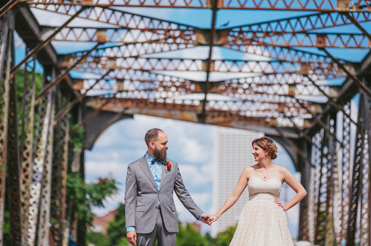 Colorful Atlanta Wedding