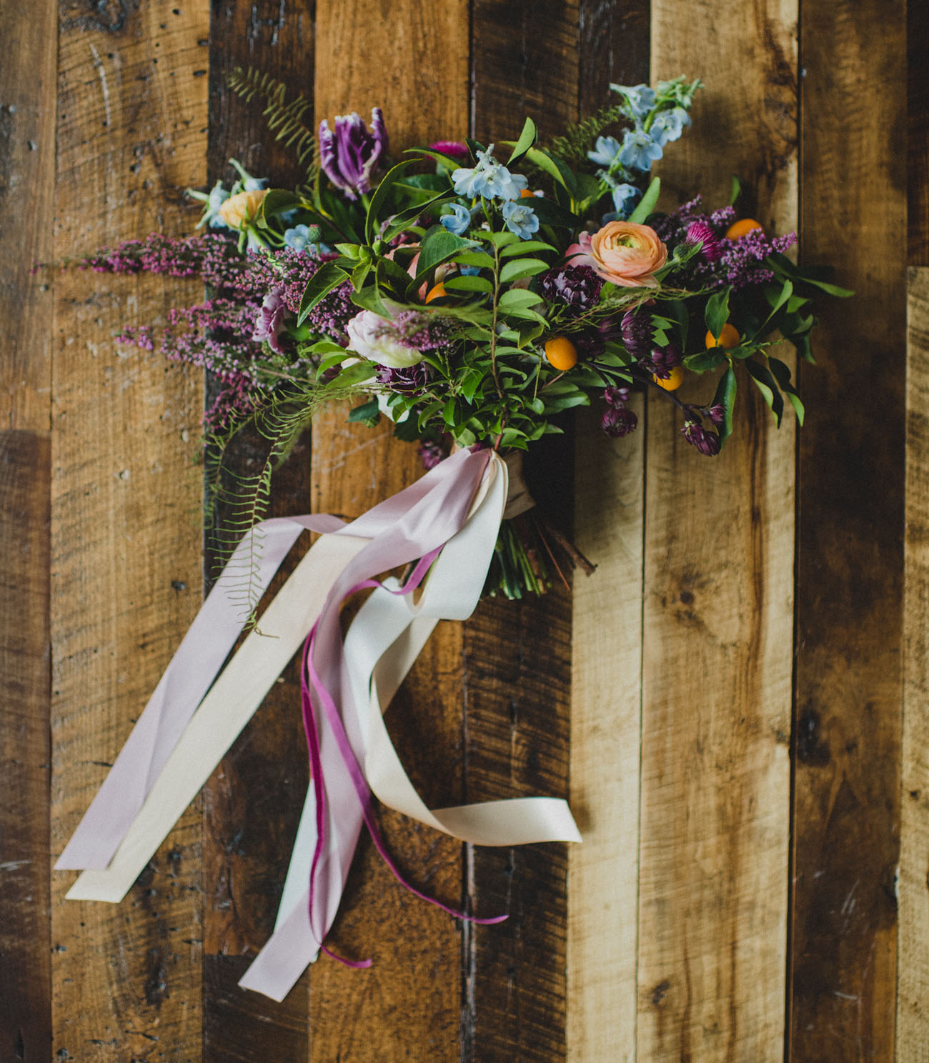 long bouquet ribbons