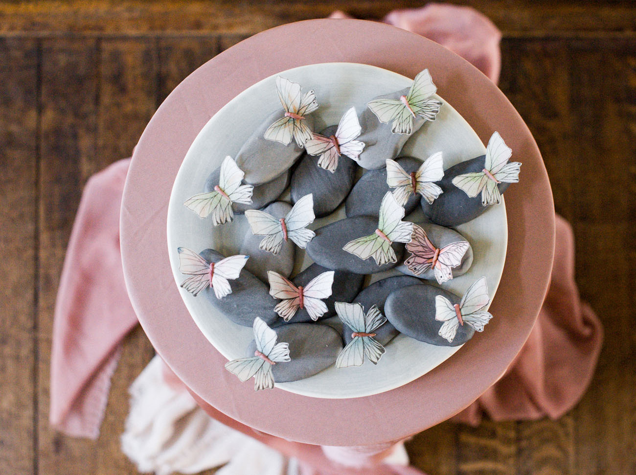 butterfly stones