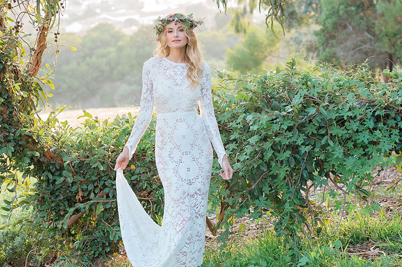 Non Traditional Wedding Dresses Los Angeles: One-Of-A-Kind Wedding Dresses From Saldana Vintage
