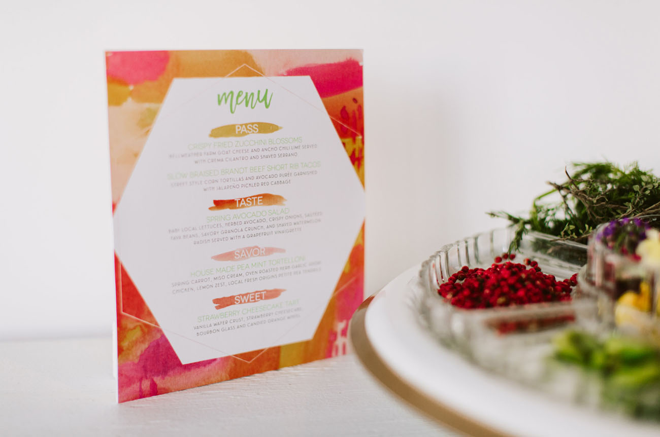 snacks menu