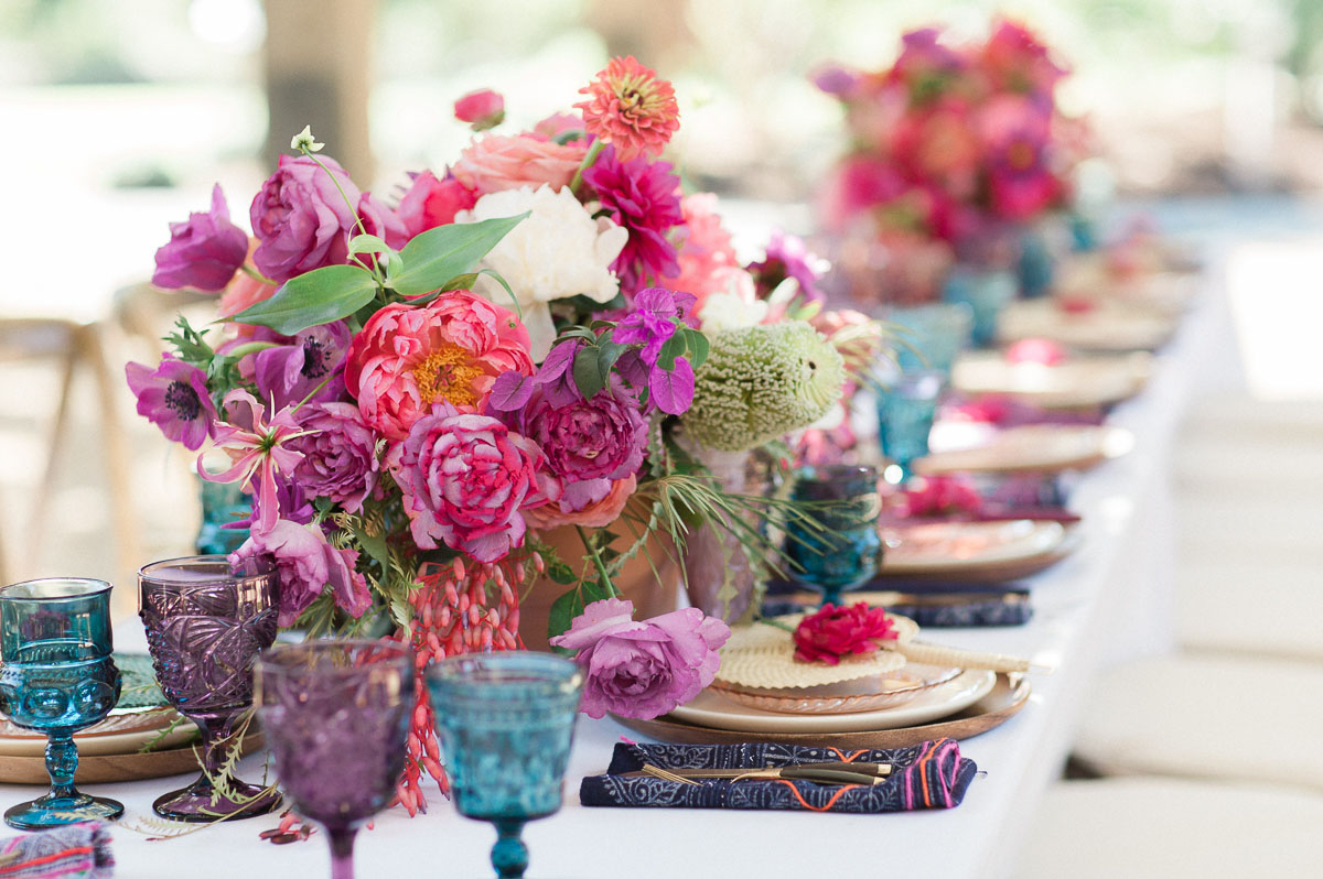 peony tablescape