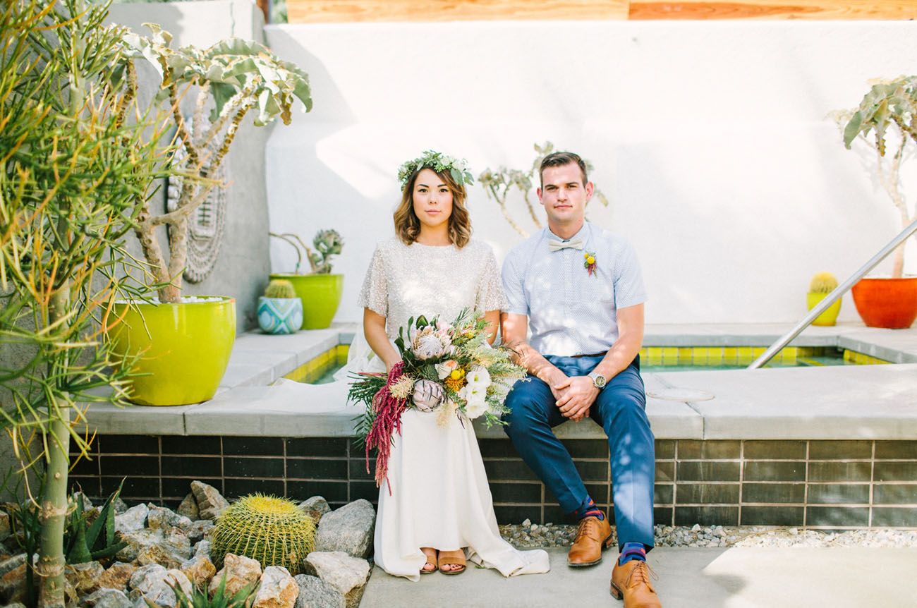 Whimsical Desert Wedding