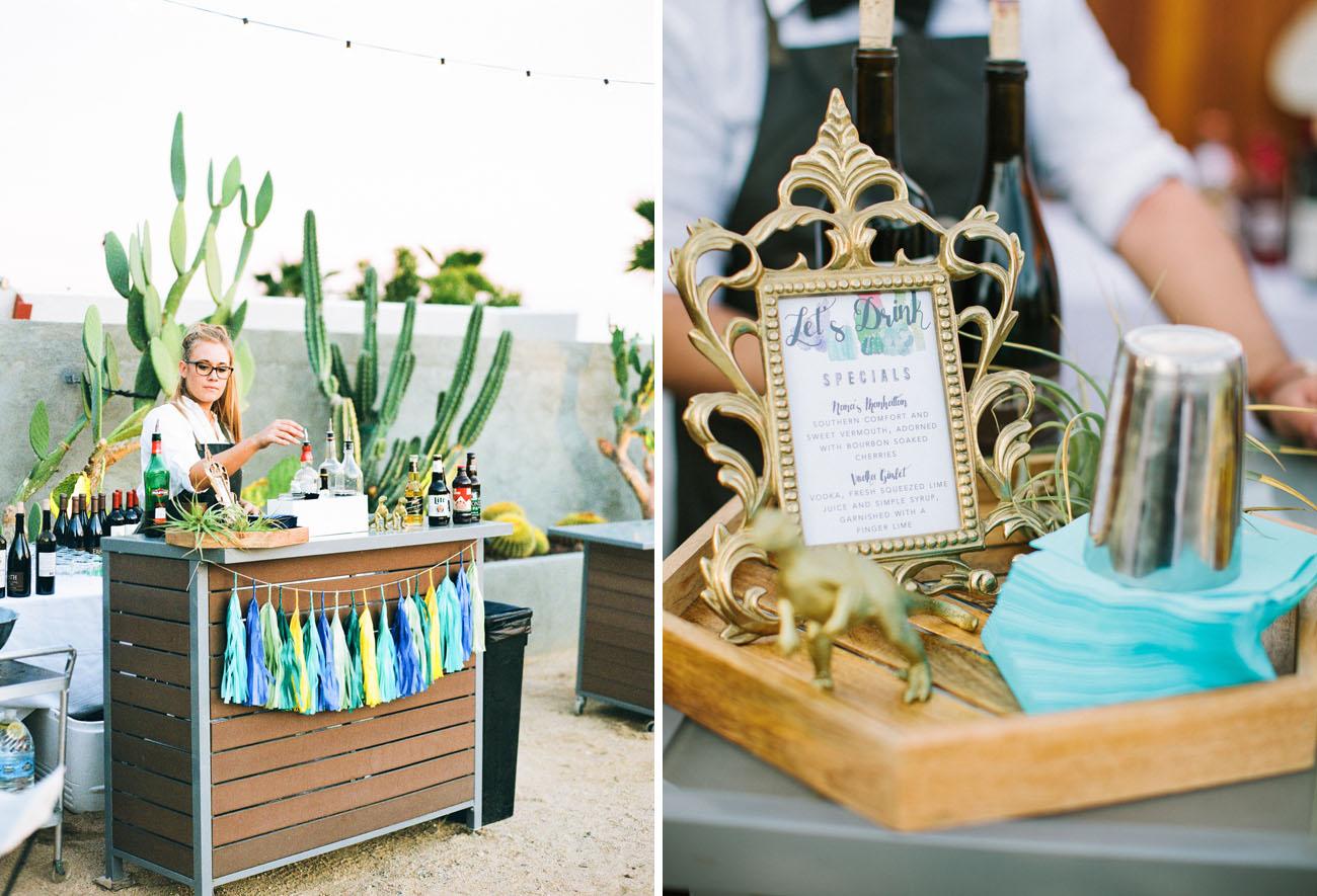 Whimsical Desert Wedding