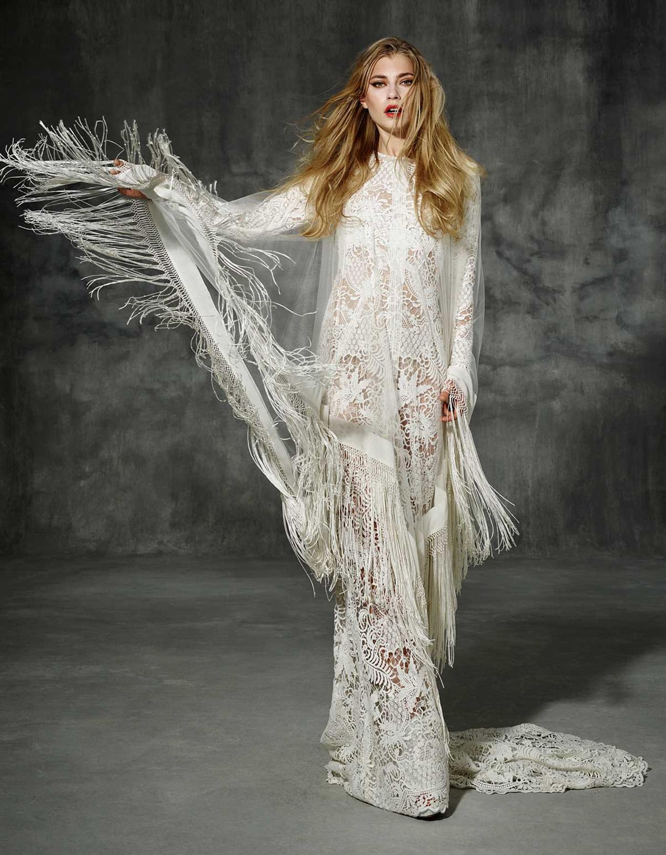 Yolan Cris Boho Wedding Dress