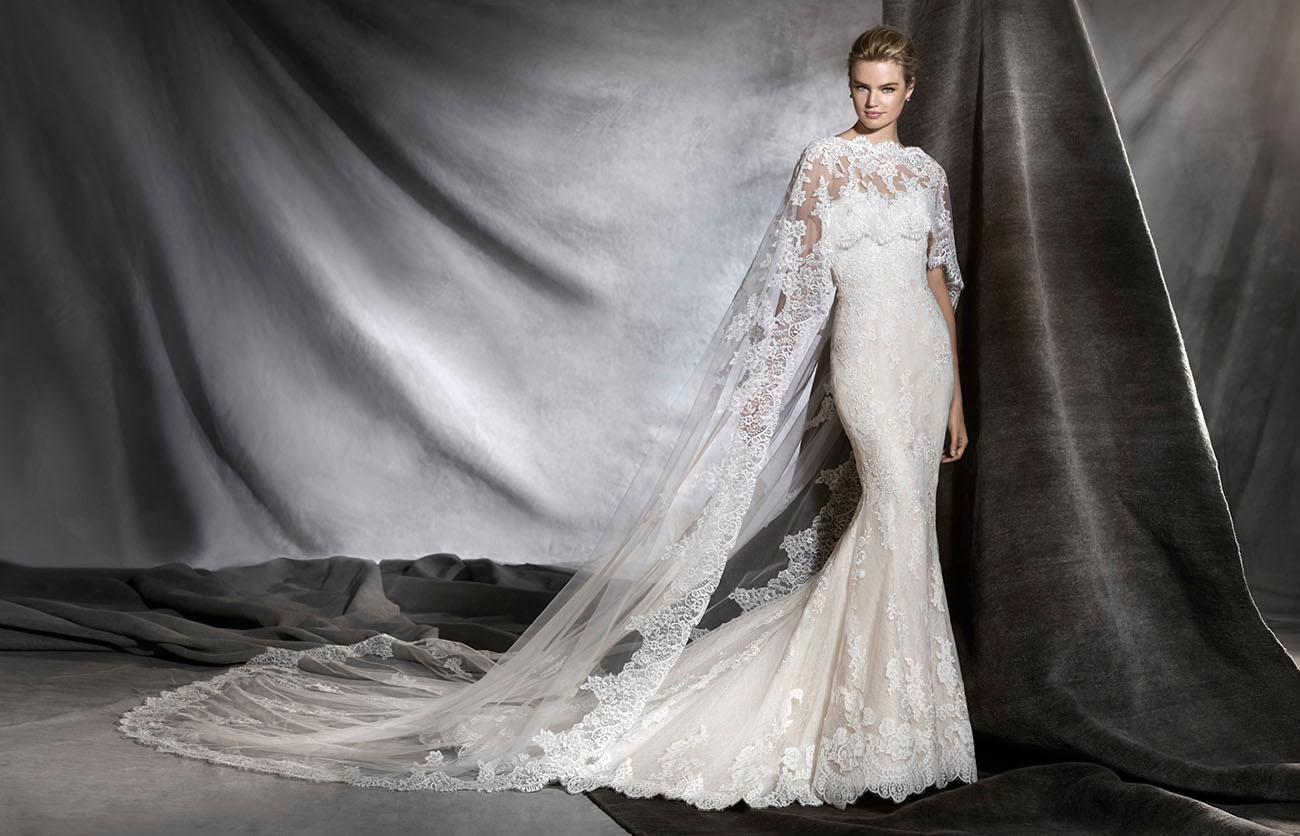 2017 fashion trend color - 2017 Bridal Collection From Atelier Pronovias Green