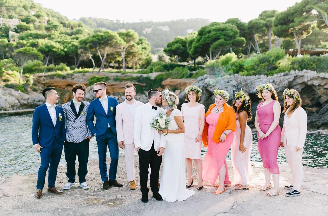 a728f367687c5d Spain Beach Wedding