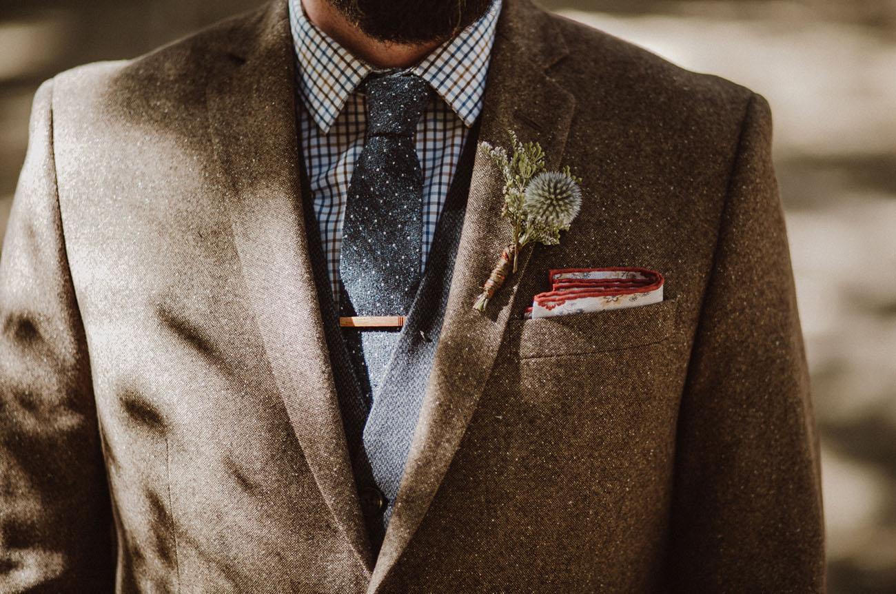boho grooms attire