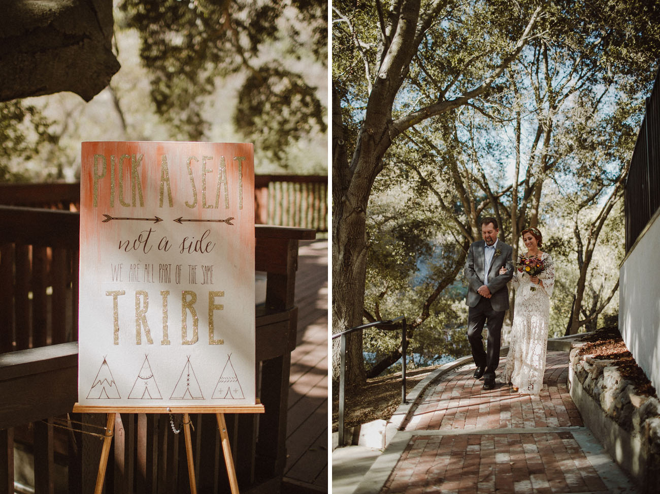 Boho Indian Summer Wedding