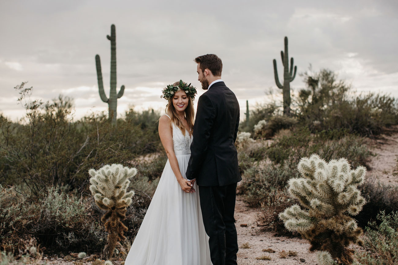 Urban Downtown Phoenix Wedding