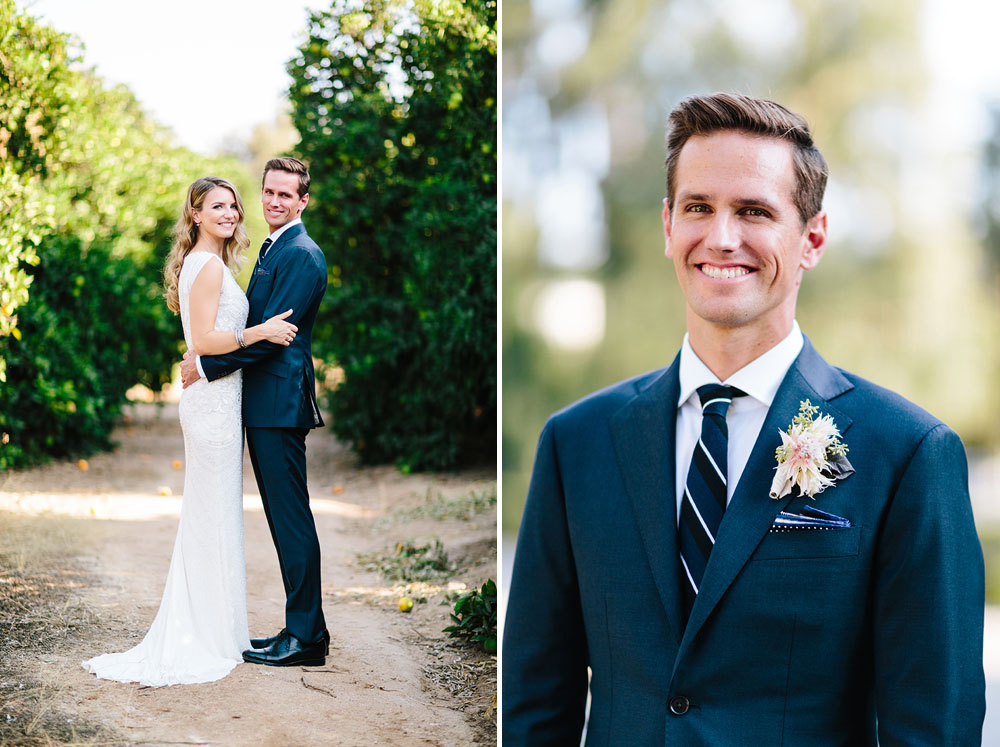 navy suit groom