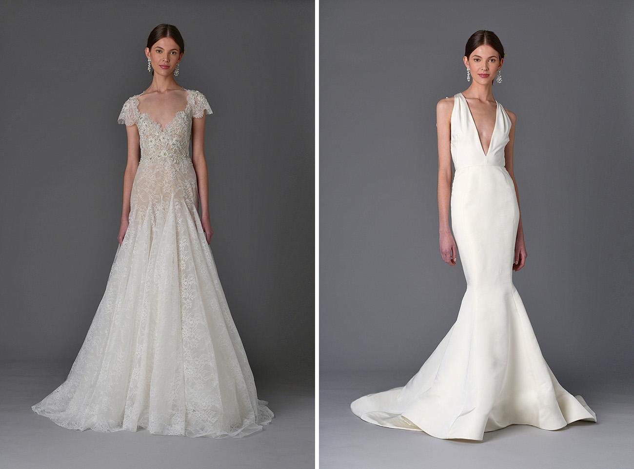 Marchesa Bridal Spring 2017 Dresses