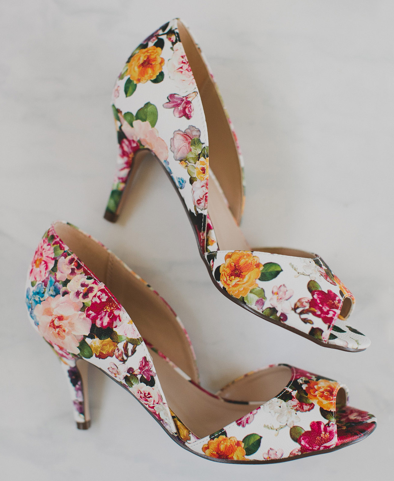 flower wedding shoes how to throw a floral bridal shower with modcloth green 4243
