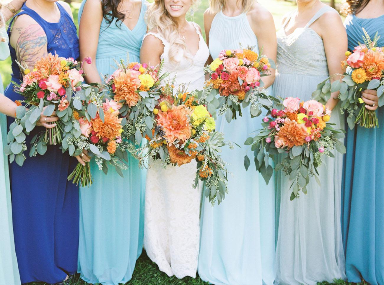 Bohemian Pennsylvania Greenhouse Wedding: Christine + Scott - Green ...