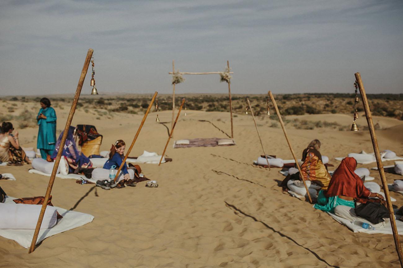 India Desert Wedding