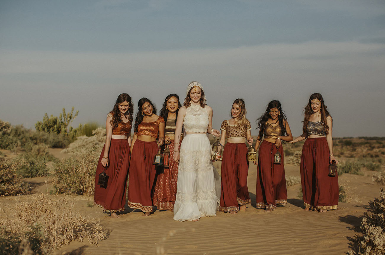 Indian Bridesmaids