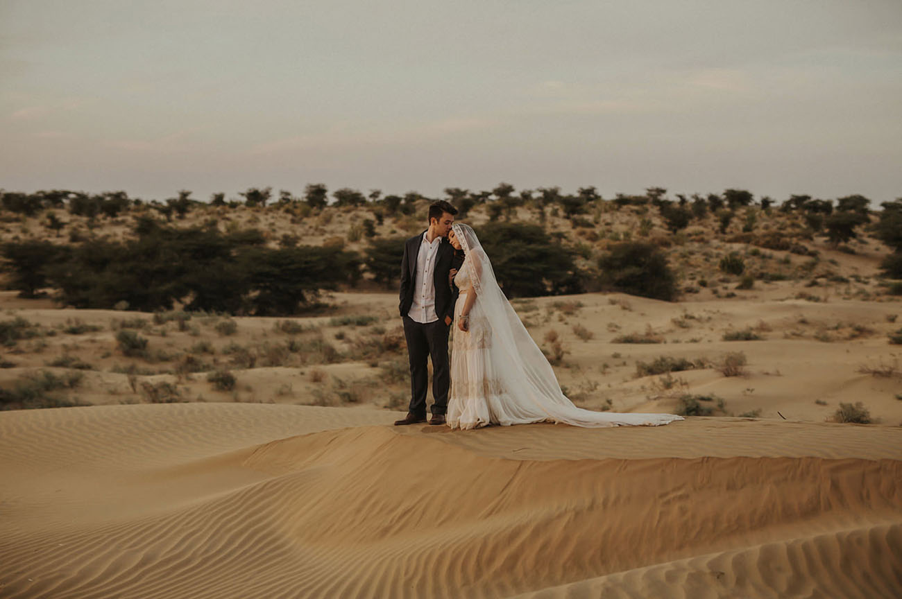 India Desert Wedding