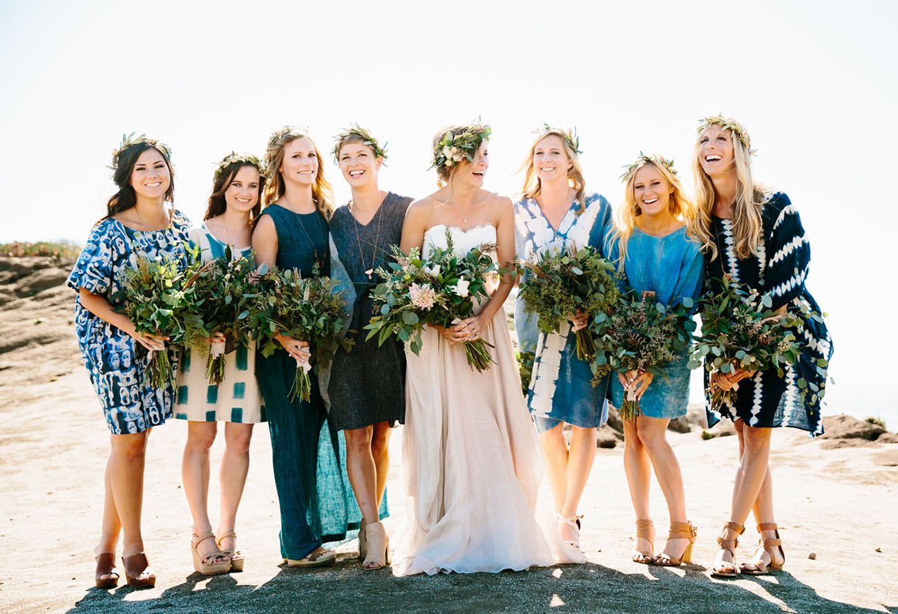 Indigo Bridesmaids