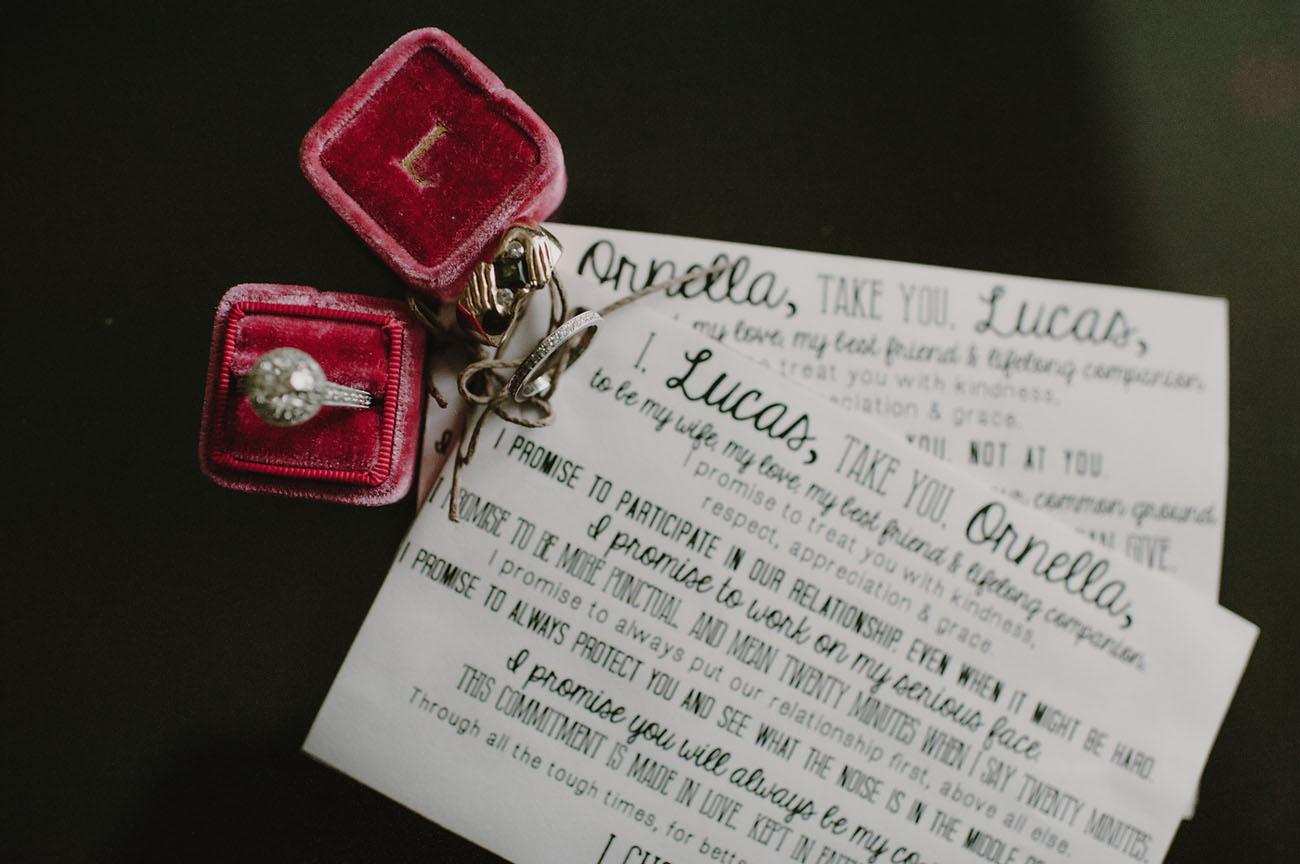 written vows