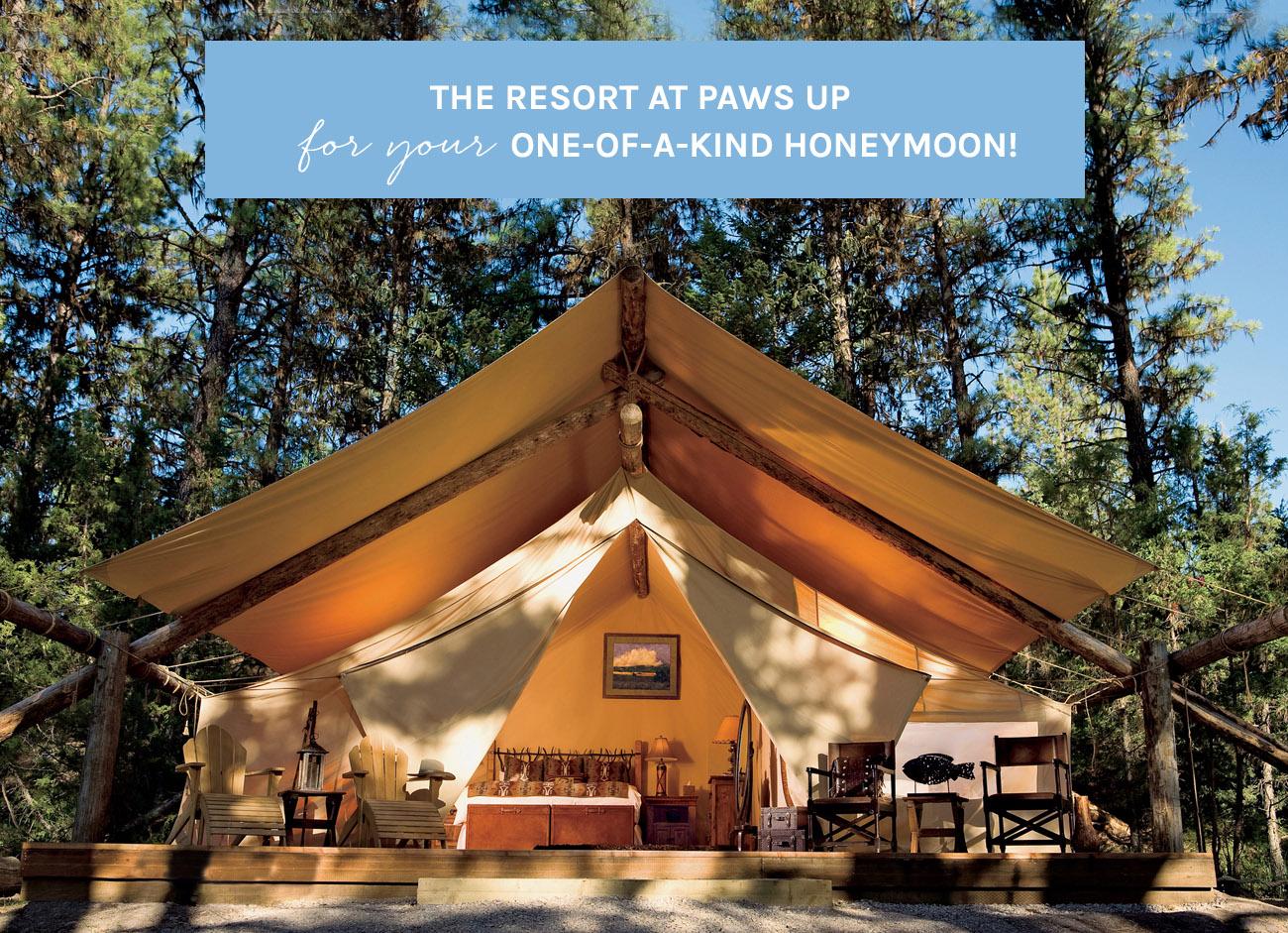 The Resort at Paws Up Honeymoon