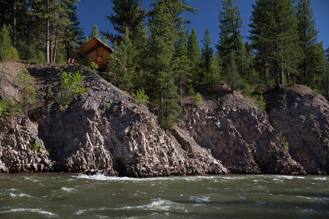 paws up cliffside camp