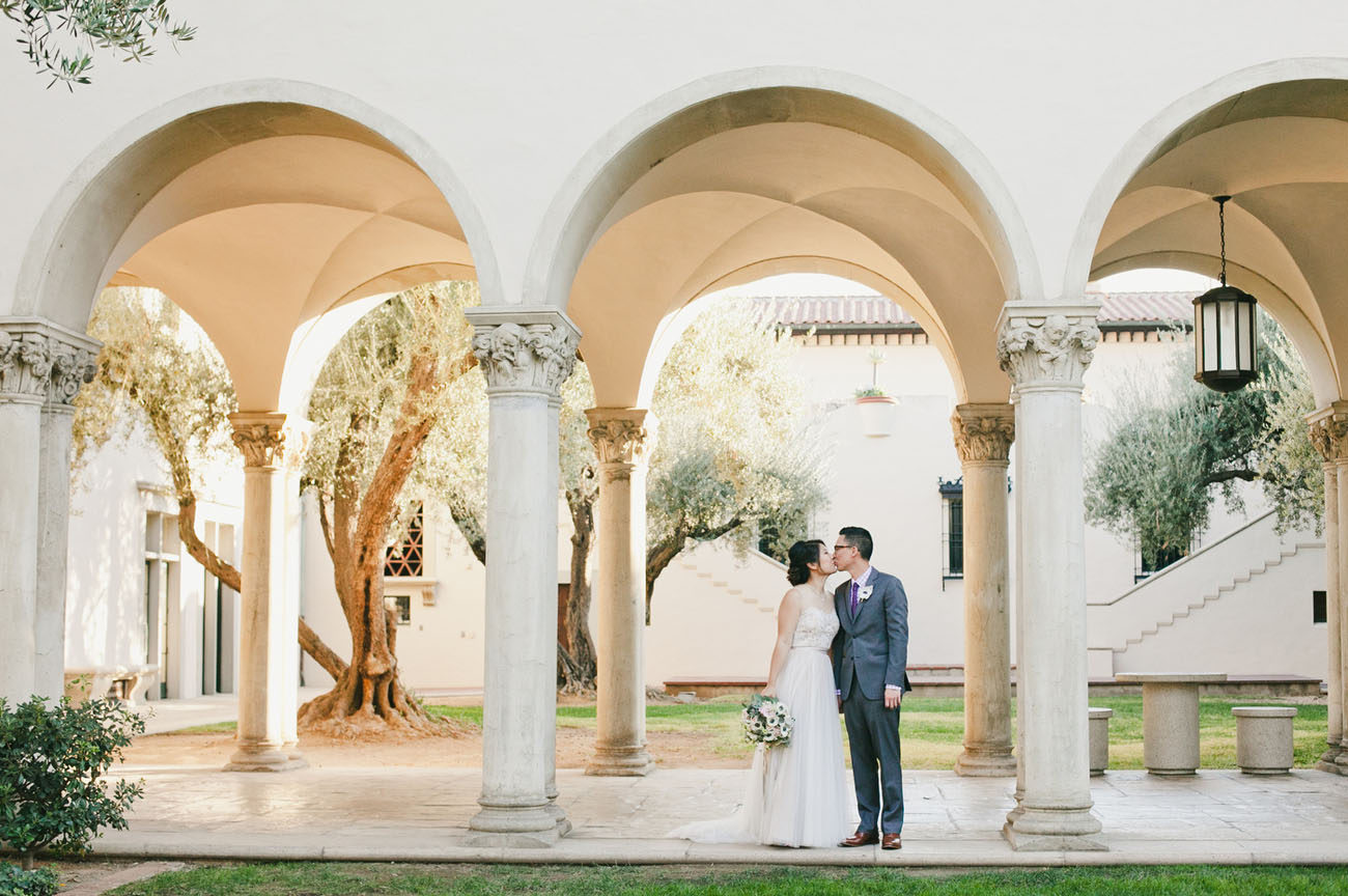 Romantic Pasadena Wedding