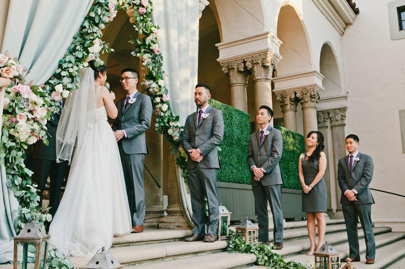 Romantic Pasadena Wedding