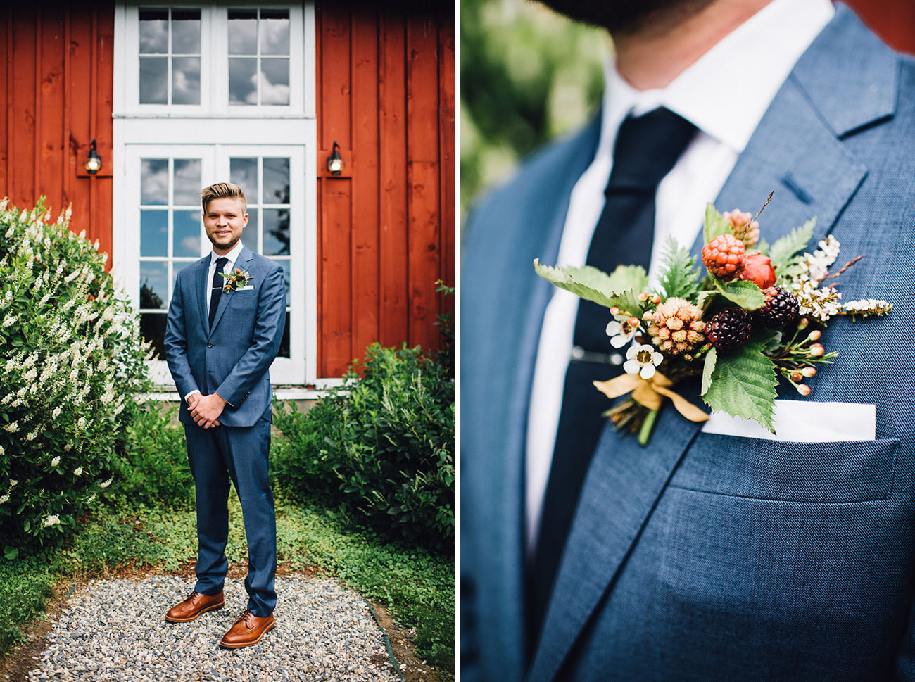 Rustic-Romantic Vermont Farm Wedding: Rawan + Adrian - Green Wedding ...