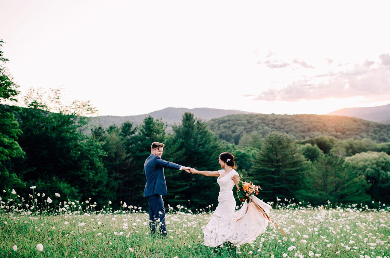 Vermont Outdoor Wedding