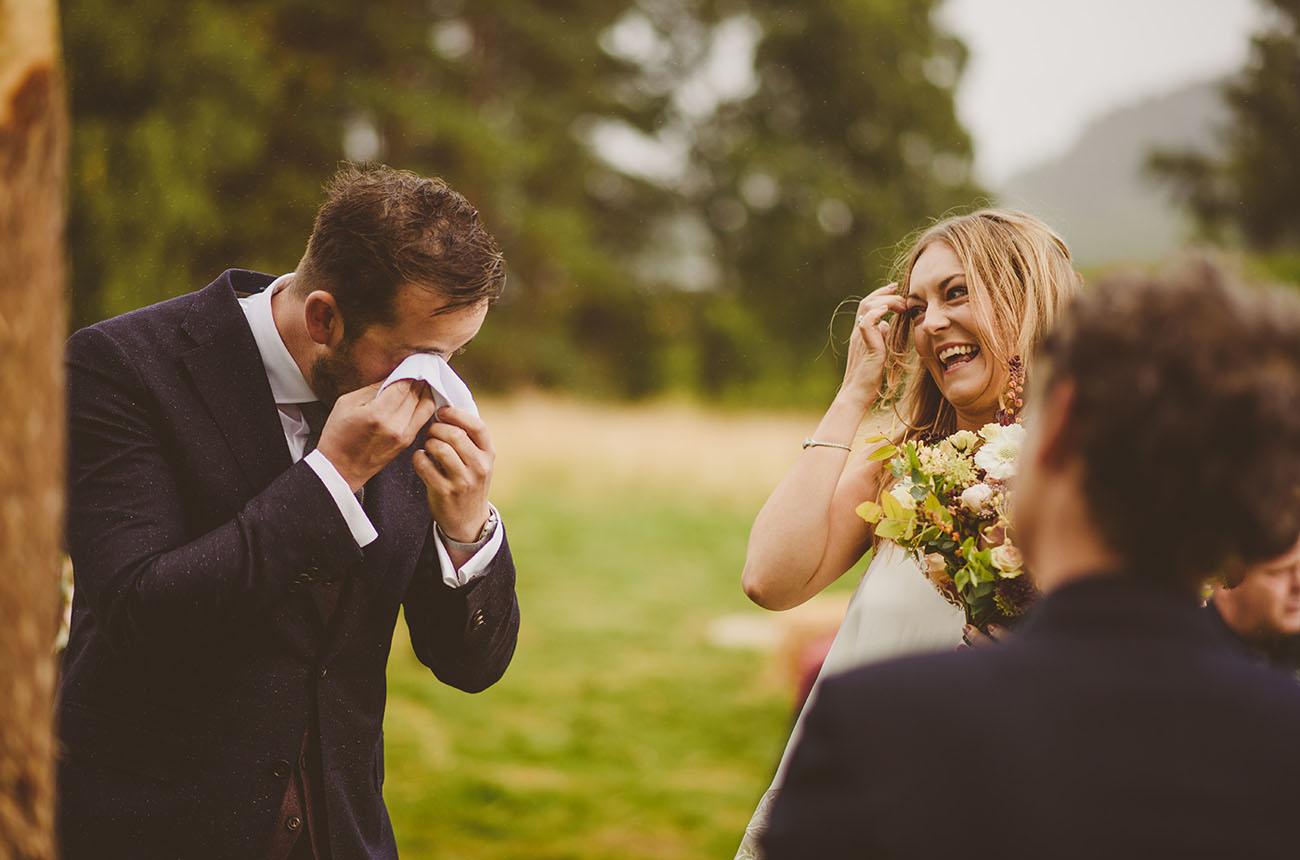 Outdoor Scotland Wedding