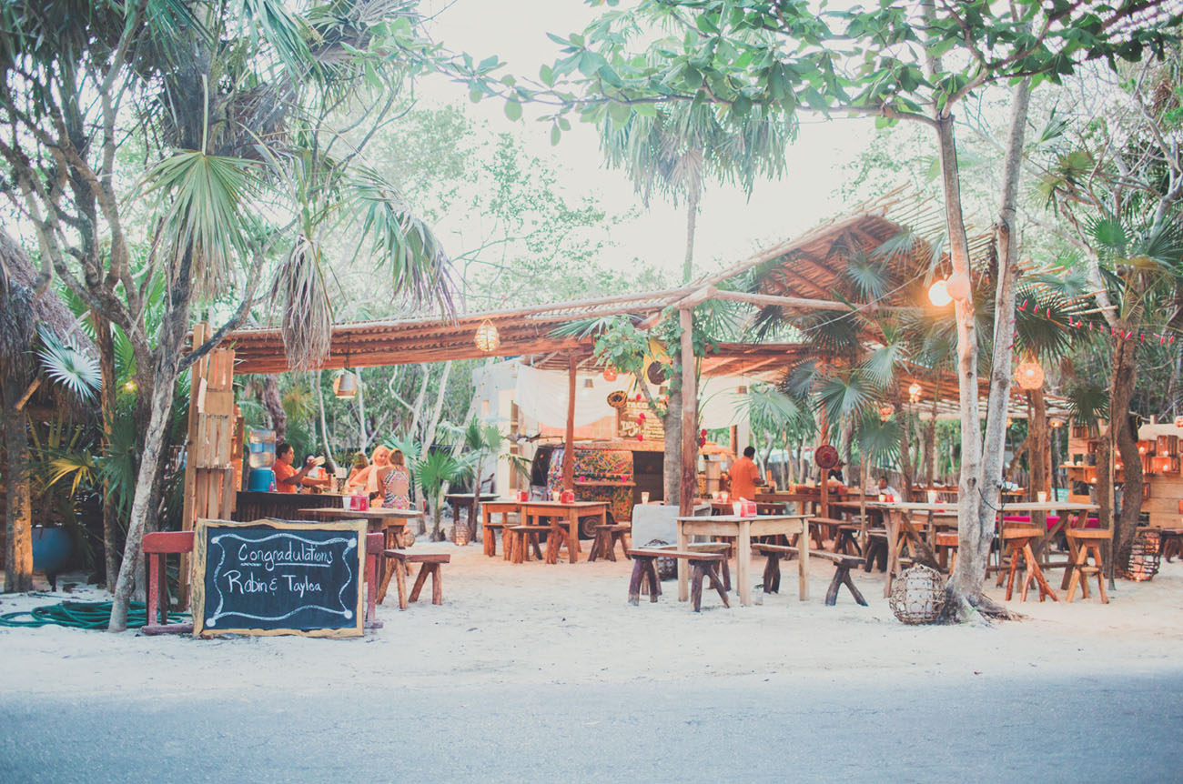 Romantic Destination Wedding In Tulum Mexico Taylea