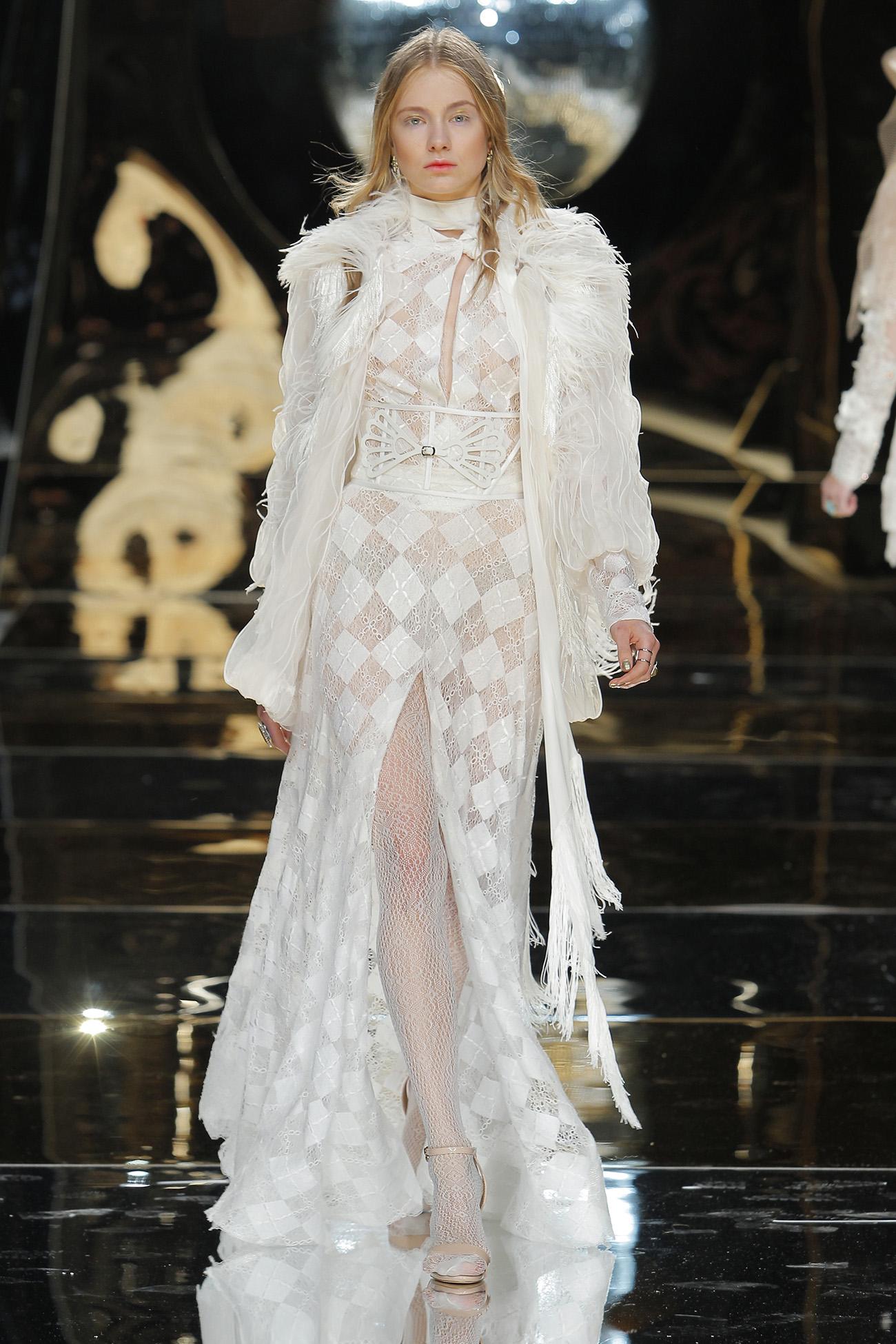 70s inspired wedding dresses from Yolan Cris