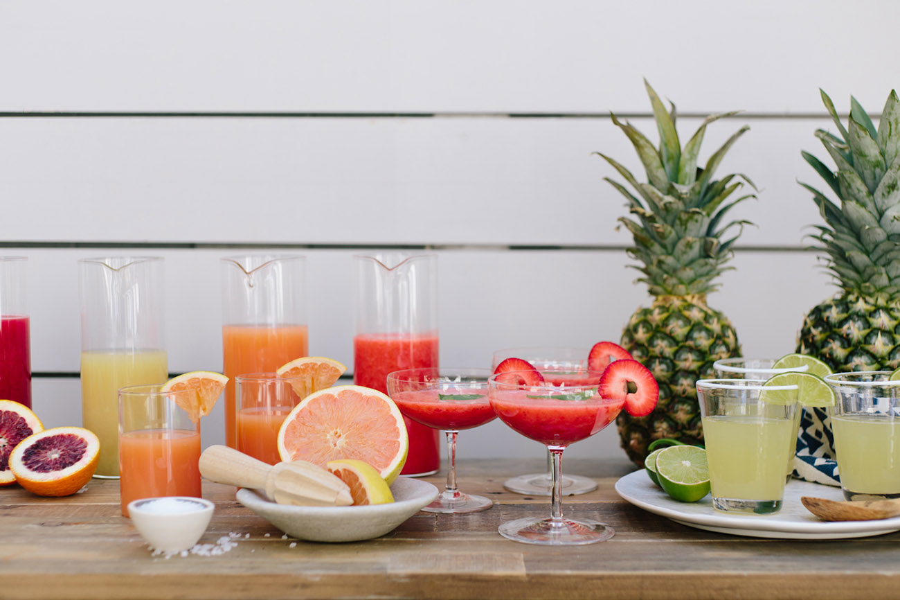 DIY Margarita Bar
