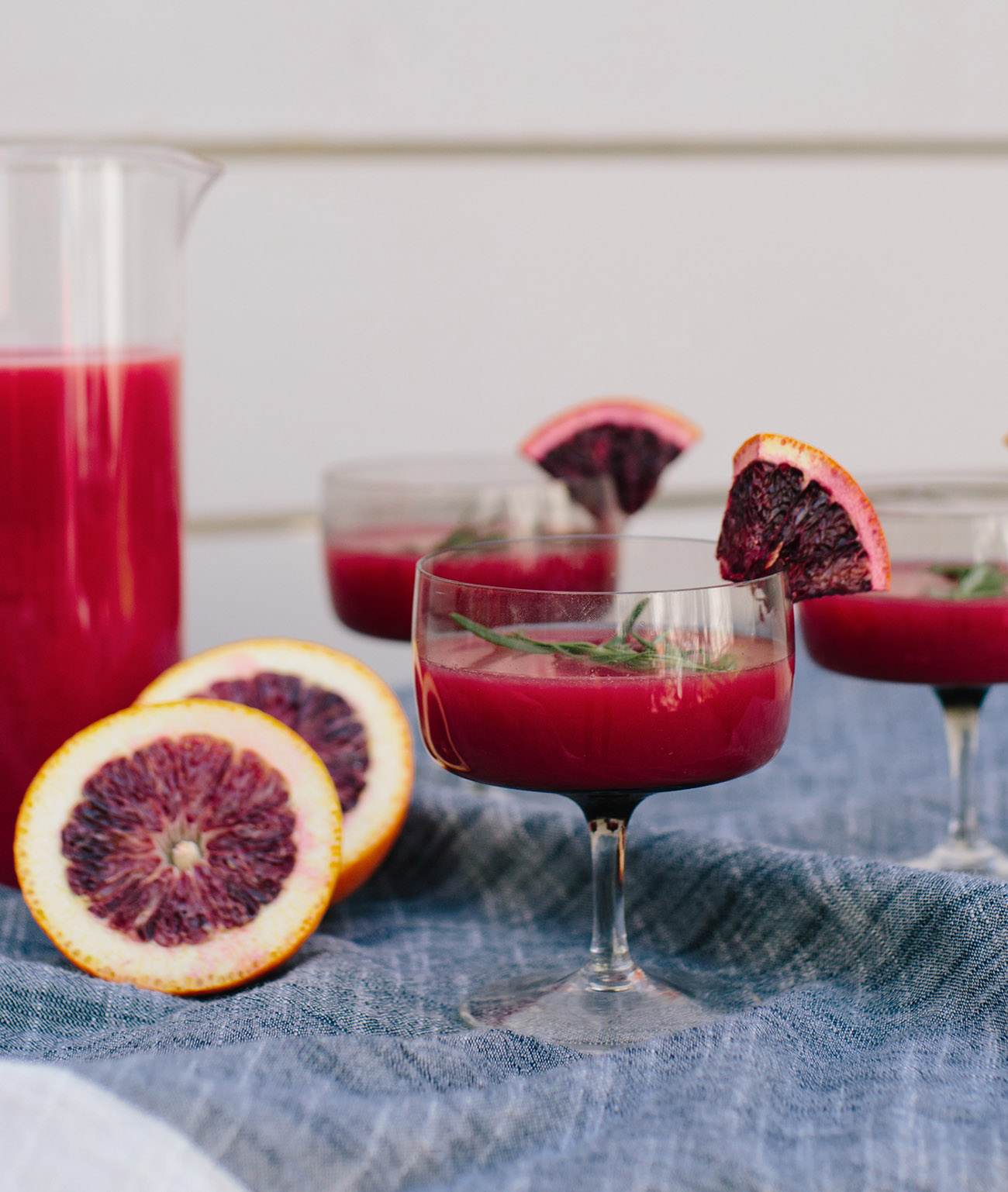 Blood Orange Margarita Bar