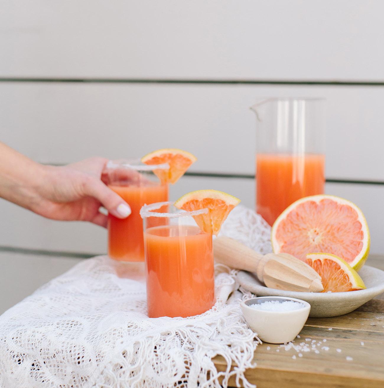 Grapefruit Margarita Bar