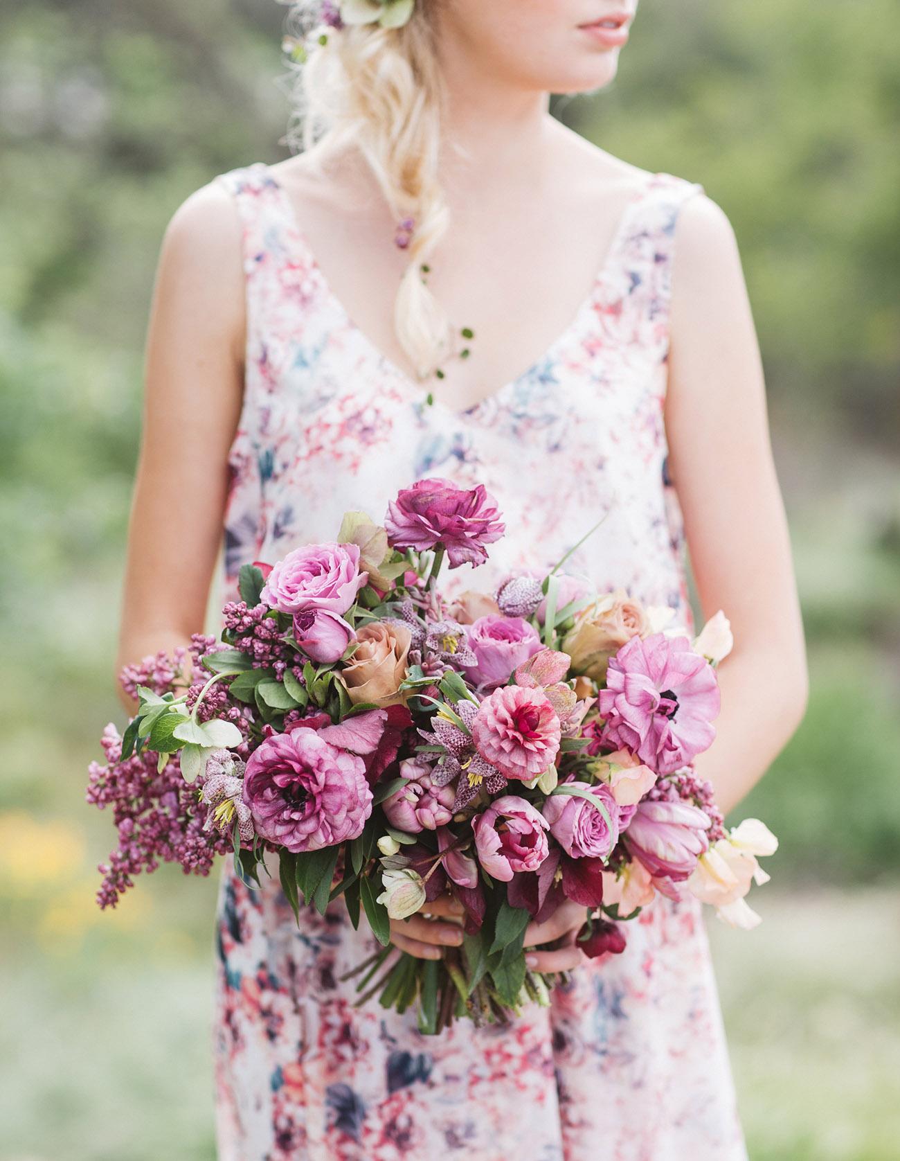 Purple Ombre Bouquet