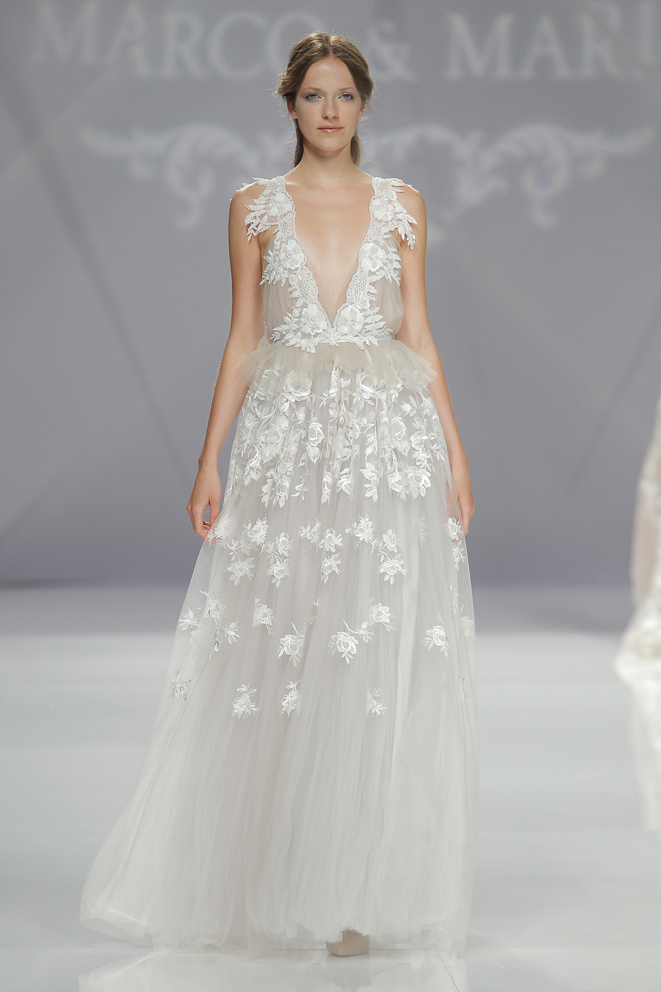 Intricate Appliques on Wedding Dresses