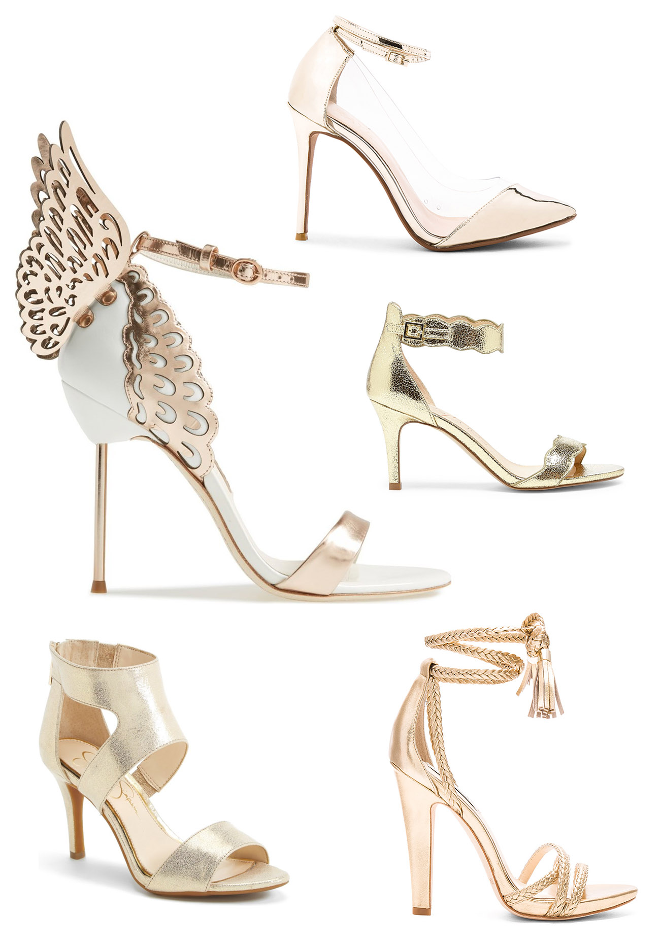 The Best Metallic Shoes
