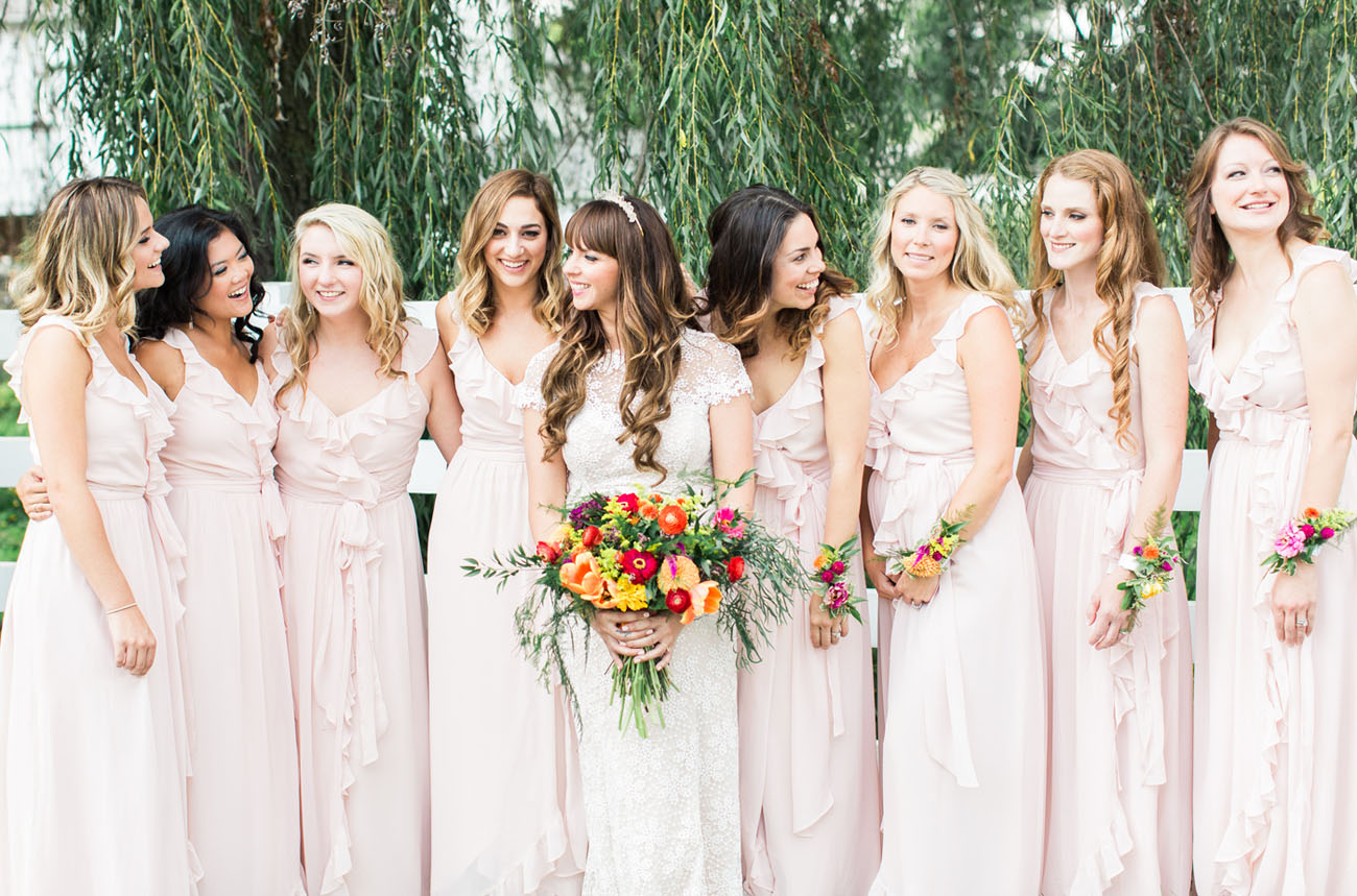 Colorful Anthropologie Inspired Wedding