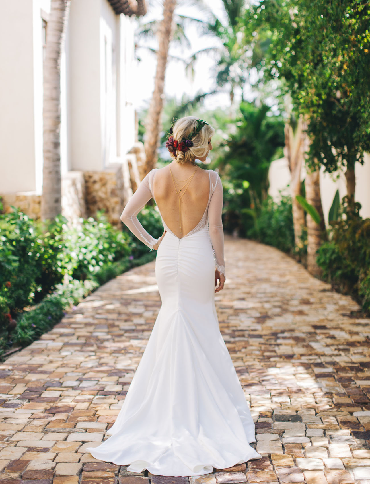 Simple Yet Stunning Wedding Dresses : Desert chic mexico wedding hayley duke green shoes