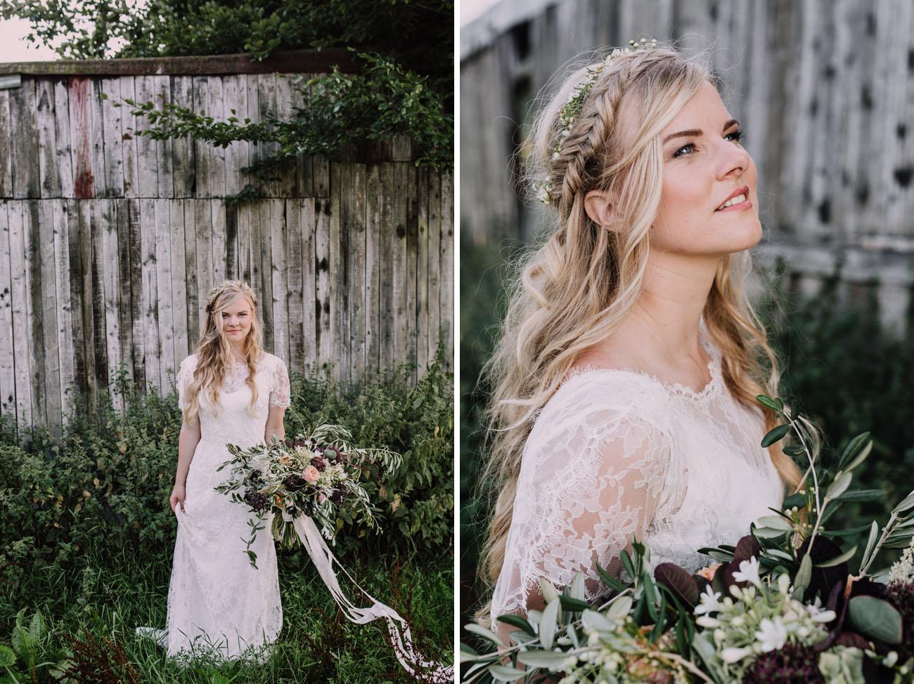 Wedding Dresses  Belgium : Organic artful belgian wedding suzanne erwin green